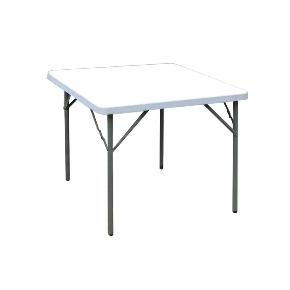 Mesa plegable cuadrada hosa picnic blanca avanc s liberty for Mesa cuadrada plegable